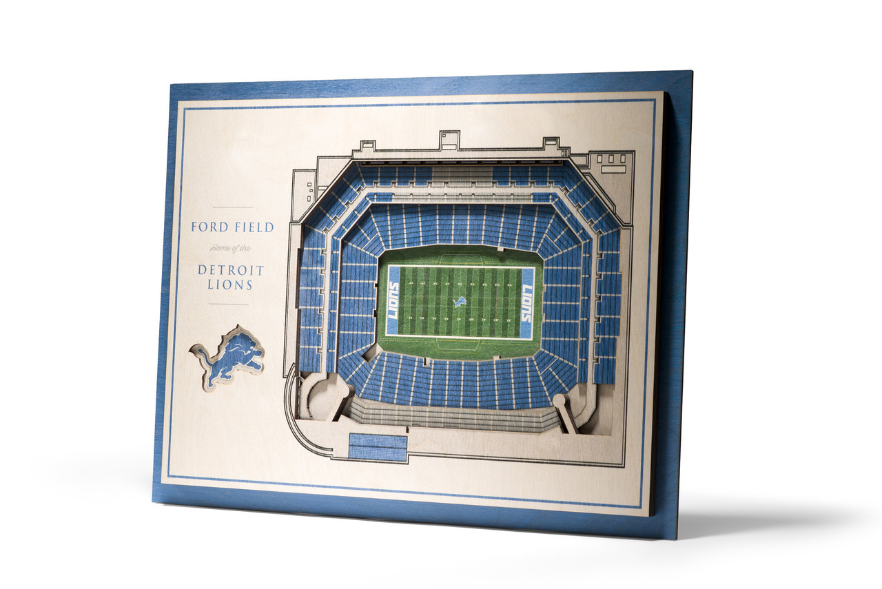 Detroit Lions 5 Layer Stadium
