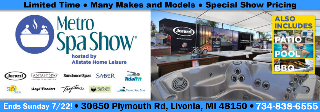 Metro Spa Show 75 Off Hot Tubs Swimming Pools Amp Patio